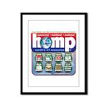 Hemp: Earth's #1 Resource Log Framed Panel Print