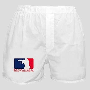 Major League Grndpa 2 - NAVY  Boxer Shorts