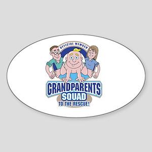 GrandParents Squad hi-rez.jpg Sticker