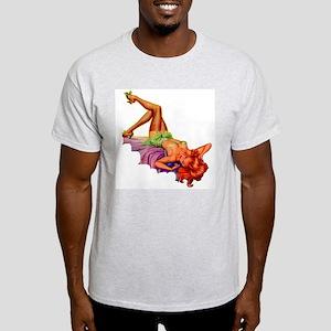 Plaything Pulp Pin Up Girl T-Shirt