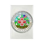 Medical Marijuana Rectangle Magnet (100 pack)