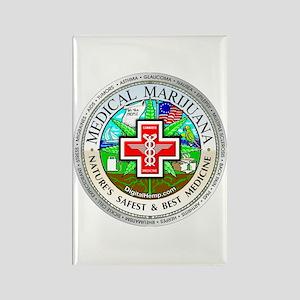 Medical Marijuana Rectangle Magnet