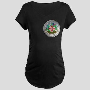 Medical Marijuana Maternity Dark T-Shirt