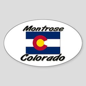 Montrose Colorado Oval Sticker