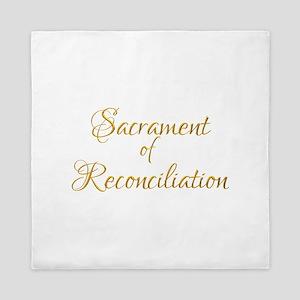 Sacrament of Reconciliation Queen Duvet