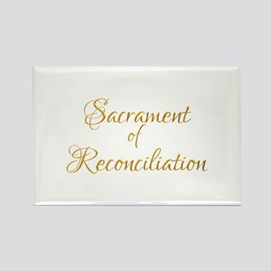 Sacrament of Reconciliation Rectangle Magnet