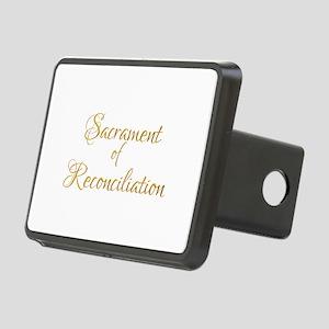 Sacrament of Reconciliatio Rectangular Hitch Cover