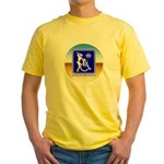 Thug Free America Yellow T-Shirt