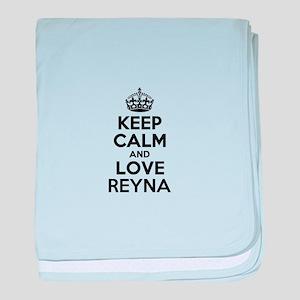 Keep Calm and Love REYNA baby blanket
