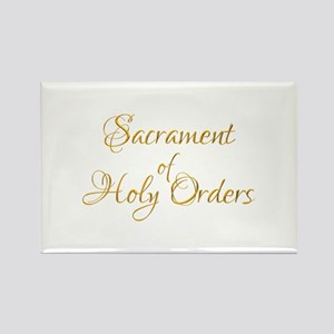 Sacrament of Holy Orders Rectangle Magnet