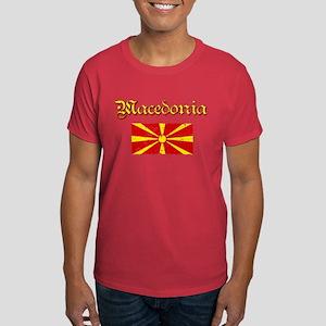 Macedonian Flag Dark T-Shirt