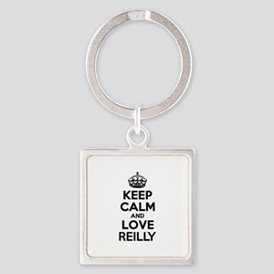 Keep Calm and Love REILLY Keychains