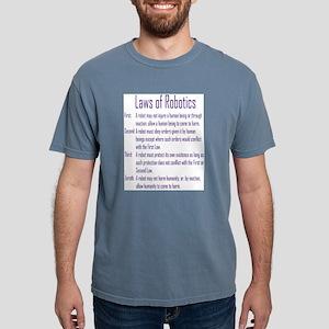 Asimov Laws of Robotics T-Shirt