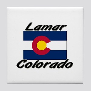 Lamar Colorado Tile Coaster