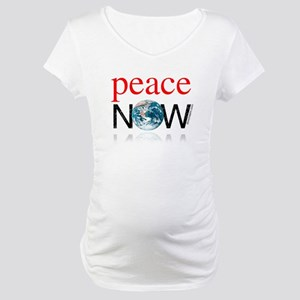 Peace Now Maternity T-Shirt