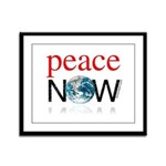 Peace Now Framed Panel Print