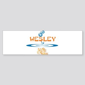 Wesley (fish) Bumper Sticker