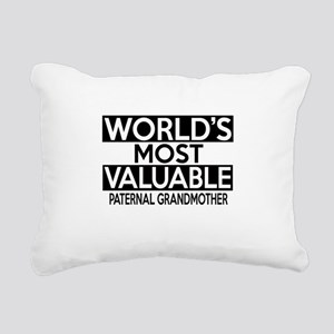 World's Most Valuable Pa Rectangular Canvas Pillow