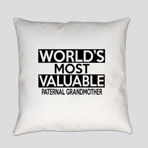 World's Most Valuable Paternal gra Everyday Pillow