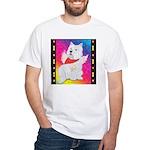 Happy Angel White T-Shirt
