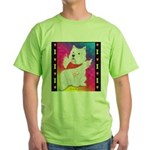 Happy Angel Green T-Shirt