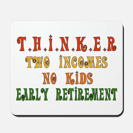 Child-Free Thinker Mousepad