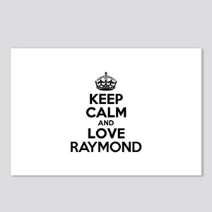 Keep Calm and Love RAYMON Postcards (Package of 8)