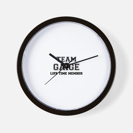 Team GAIGE, life time member Wall Clock