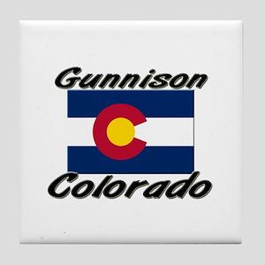 Gunnison Colorado Tile Coaster
