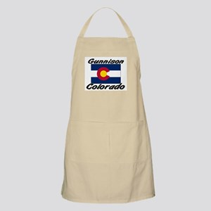 Gunnison Colorado BBQ Apron