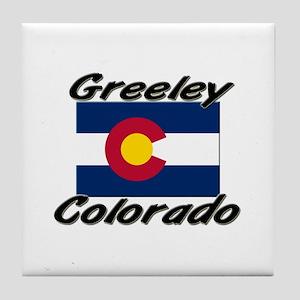 Greeley Colorado Tile Coaster