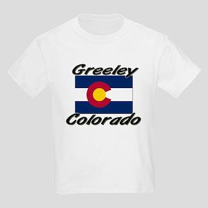 Greeley Colorado Kids Light T-Shirt