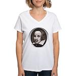 Subliminal Bard's Women's V-Neck T-Shirt