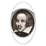 Subliminal Bard's Sticker (Oval)