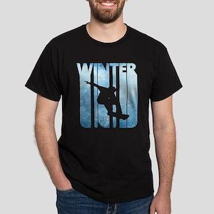Vintage Winter Sports Snowboarding.Christm T-Shirt