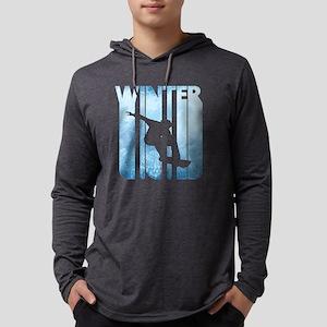 Vintage Winter Sports Snowboar Long Sleeve T-Shirt