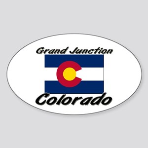 Grand Junction Colorado Oval Sticker