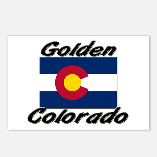 Golden Colorado Postcards (Package of 8)