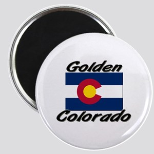 Golden Colorado Magnet