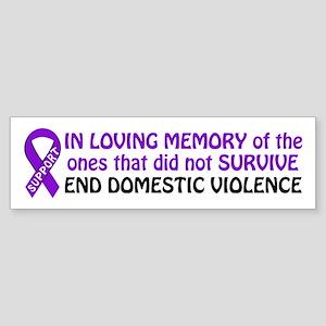 Im memory Bumper Sticker