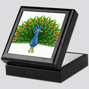 Show Your Tail Feathers Keepsake Box
