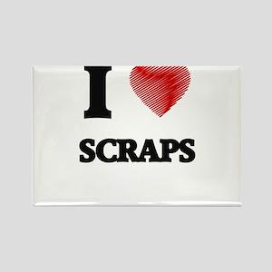 I Love Scraps Magnets