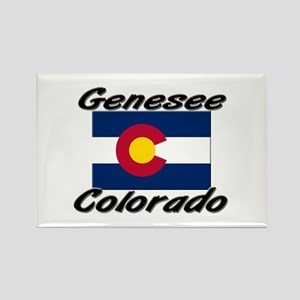 Genesee Colorado Rectangle Magnet