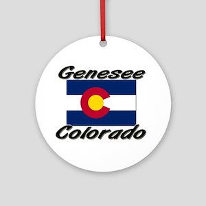 Genesee Colorado Ornament (Round)