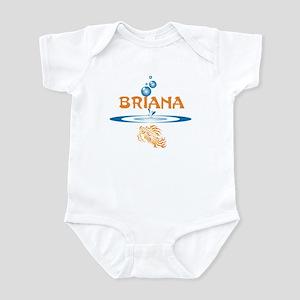 Briana (fish) Infant Bodysuit