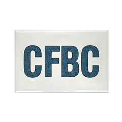 CFBC Blue Logo Rectangle Magnet (10 pack)