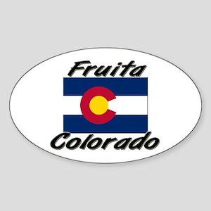 Fruita Colorado Oval Sticker
