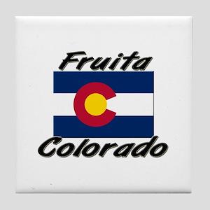 Fruita Colorado Tile Coaster