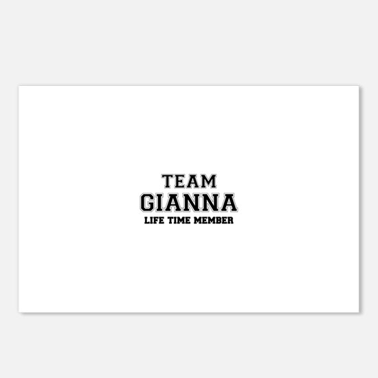 Team GIANNA, life time me Postcards (Package of 8)
