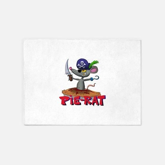 Pie-rat pirate 5'x7'Area Rug